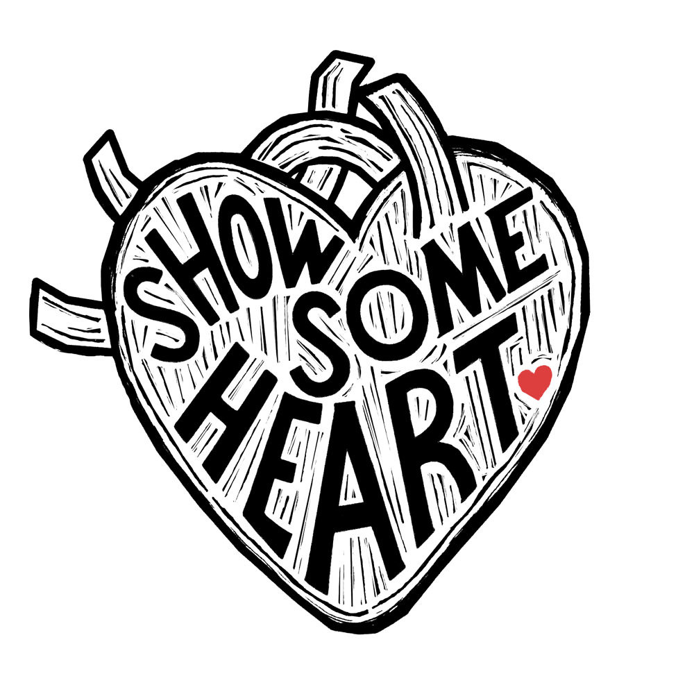 """Show Some Heart"" tattoo design by Annie Atkins"