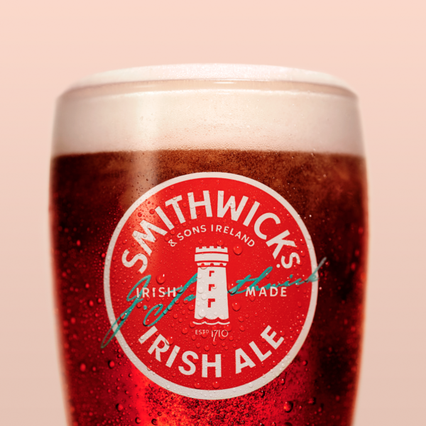 Pint of Smithwick's red ale